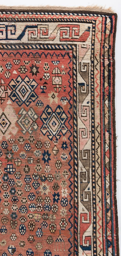 Lot 652: Antique Caucasian Kuba Konaghend Rug