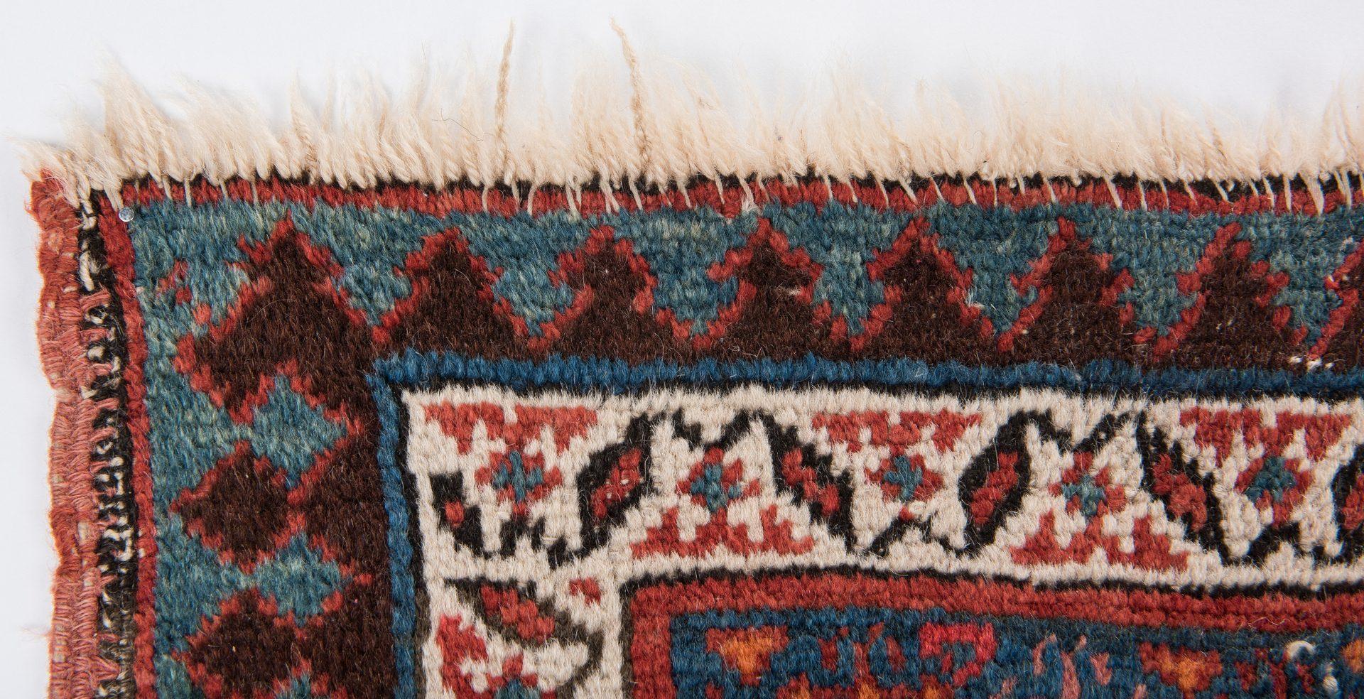 Lot 656: Antique Persian Serab area rug