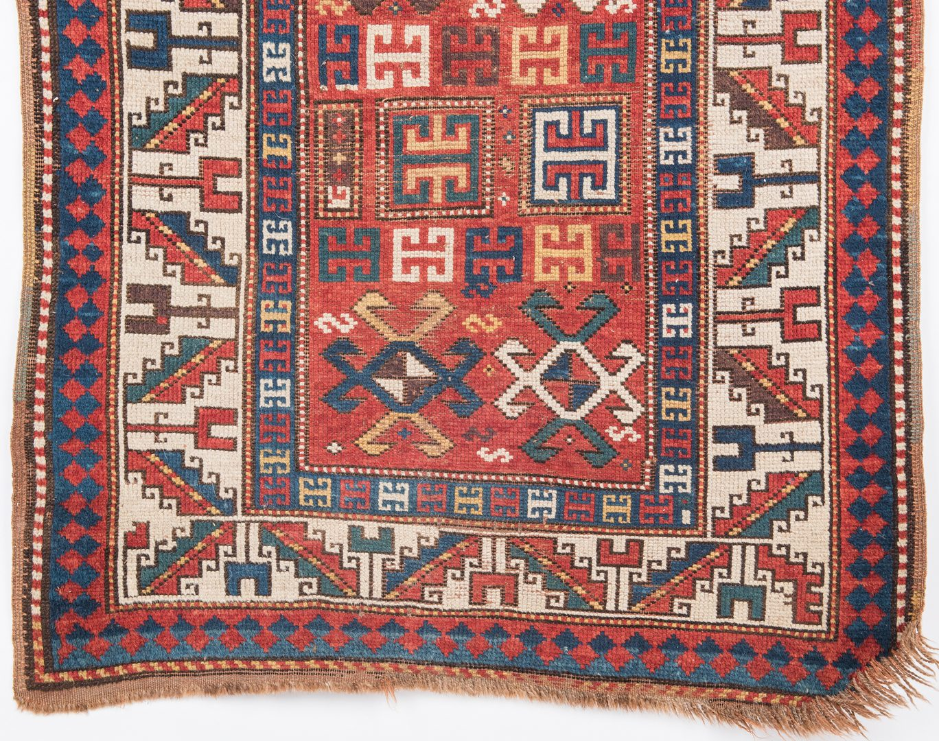 Lot 660: Antique Caucasian Runner