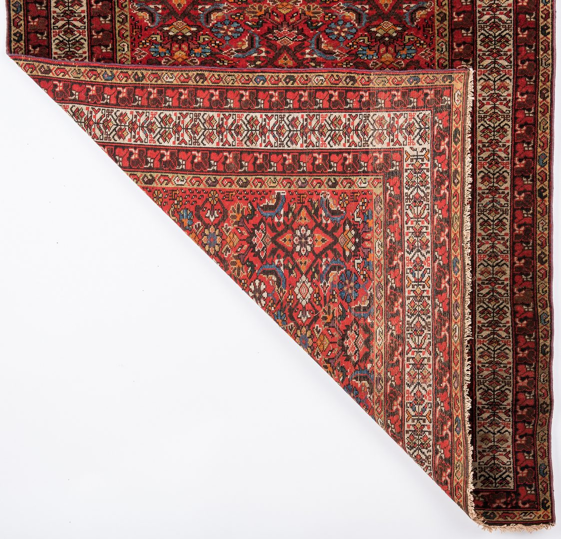 Lot 661: Antique Persian Malayer area rug