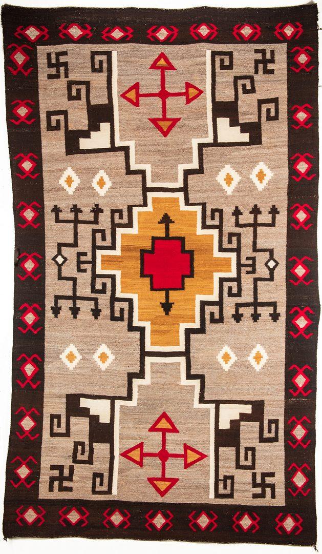 "Lot 662: Navajo Rug, Crystal Storm, 9'5"" x 5'5"""