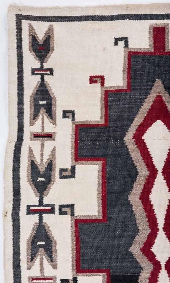 Lot 663: 2 Navajo Rugs, Klagetoh & Ganado