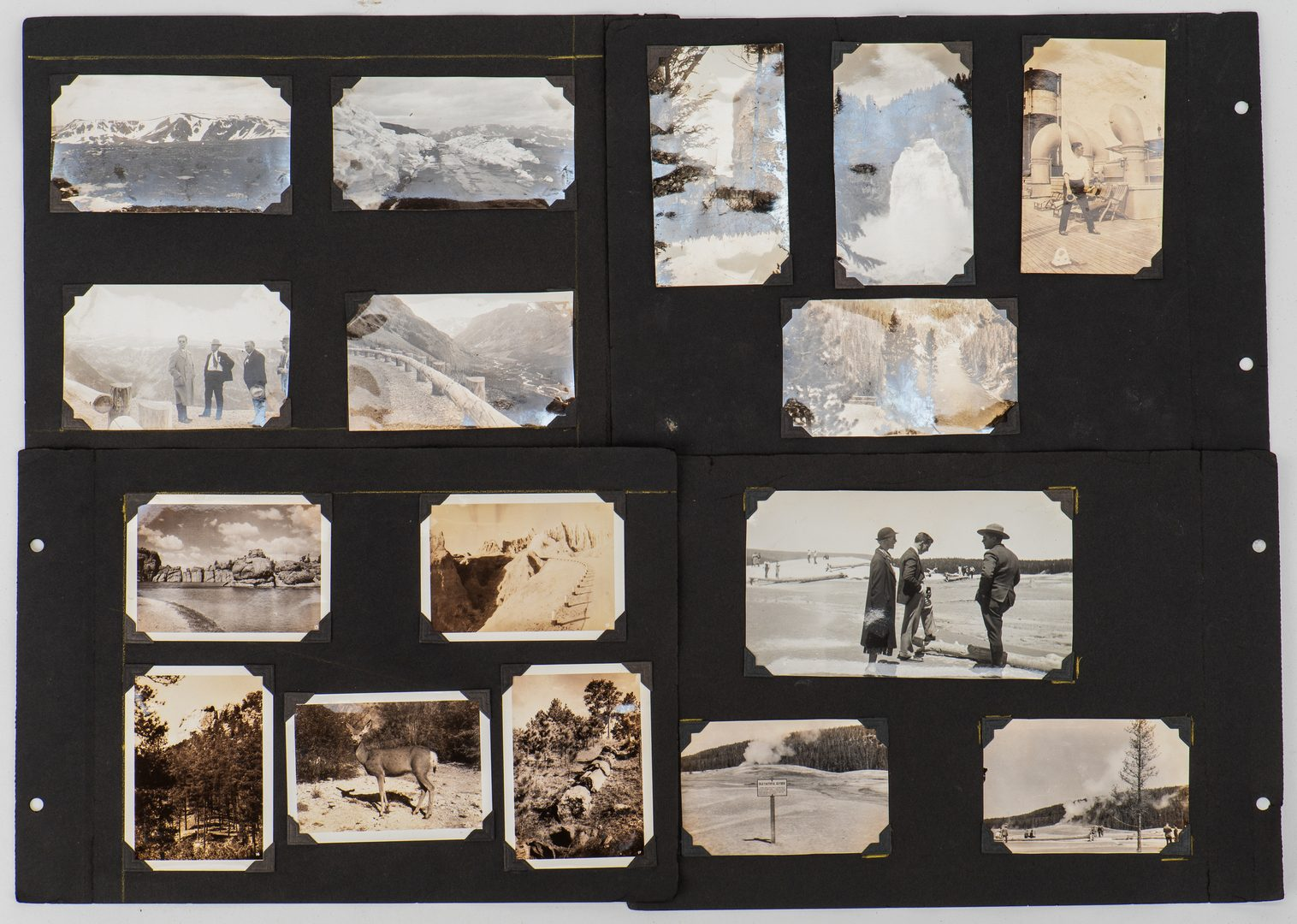 Lot 668: Group of early Western photographs