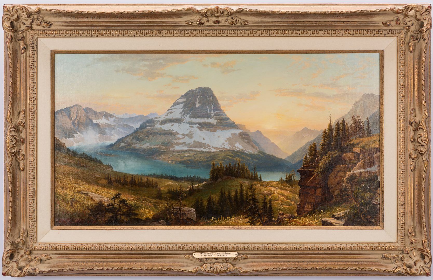 Lot 675: Michael McCarthy, O/C, Bearhat Mountain, Glacier National Park