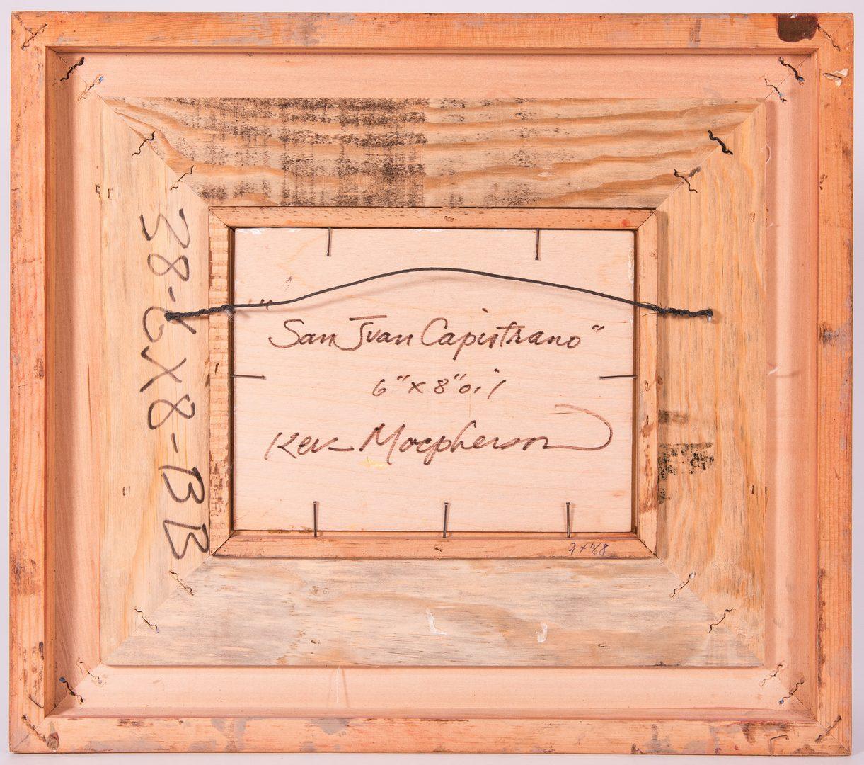 """Lot 676: Kevin MacPherson, O/B, """"San Juan Capistrano"""""""