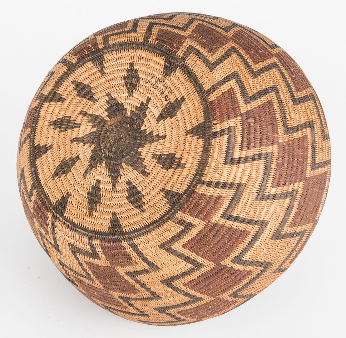 Lot 685: Native American Panamint Basket