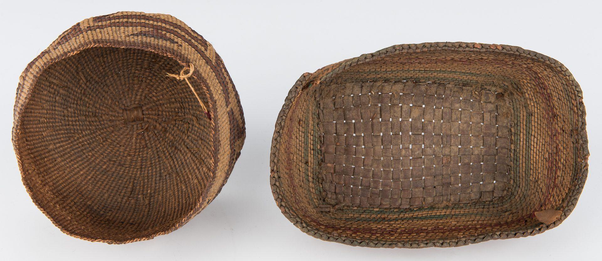 Lot 688: 4 Native American Baskets, inc. Tlingit