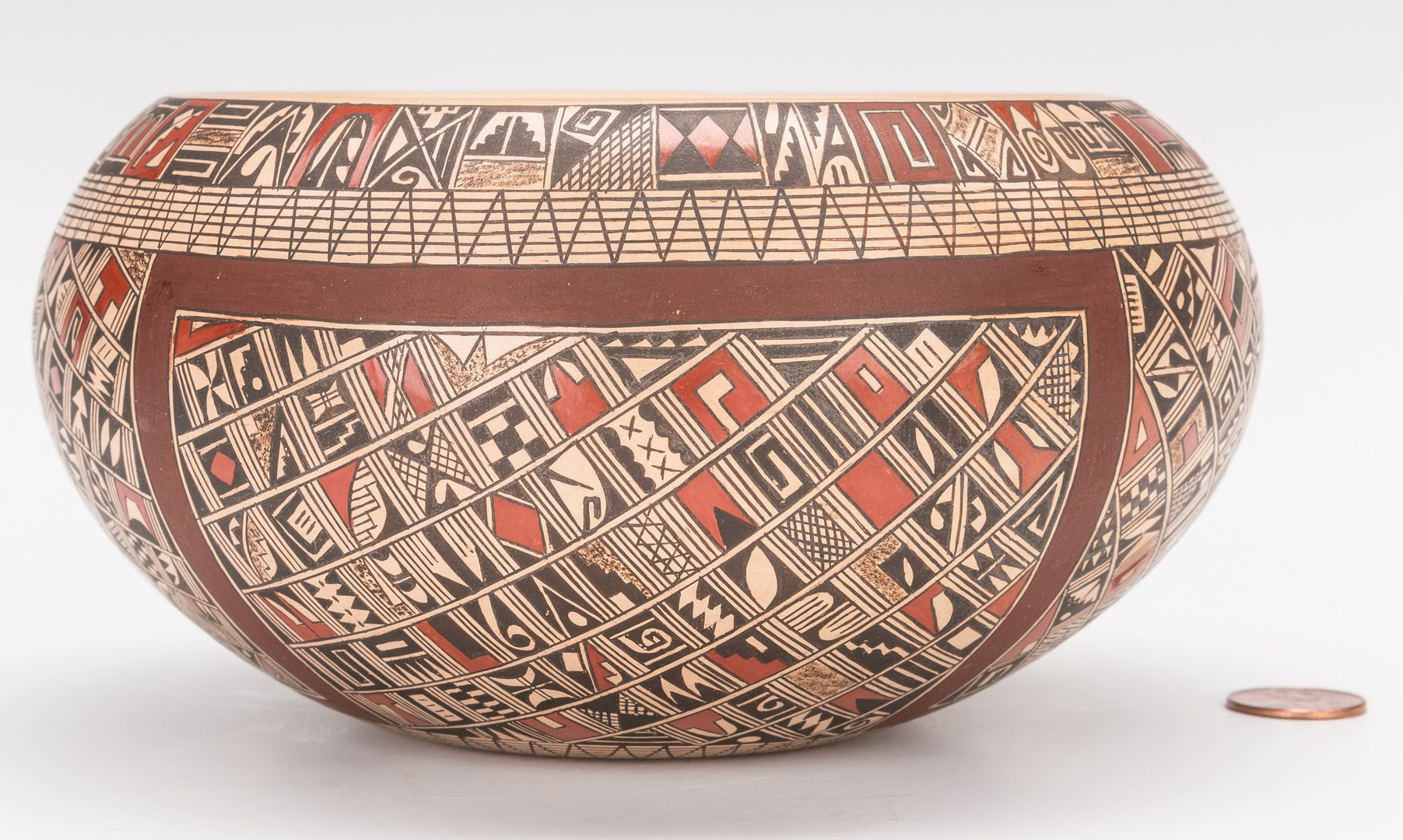 Lot 700: Rondina Huma Hopi Pottery Bowl