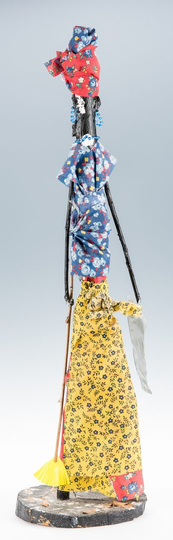 Lot 721: TN Folk Art Sculpture by Bessie Harvey