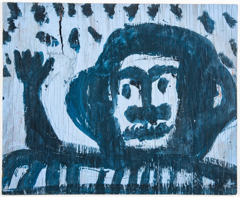 Lot 729: Folk Art Portrait,  Mary T. Smith
