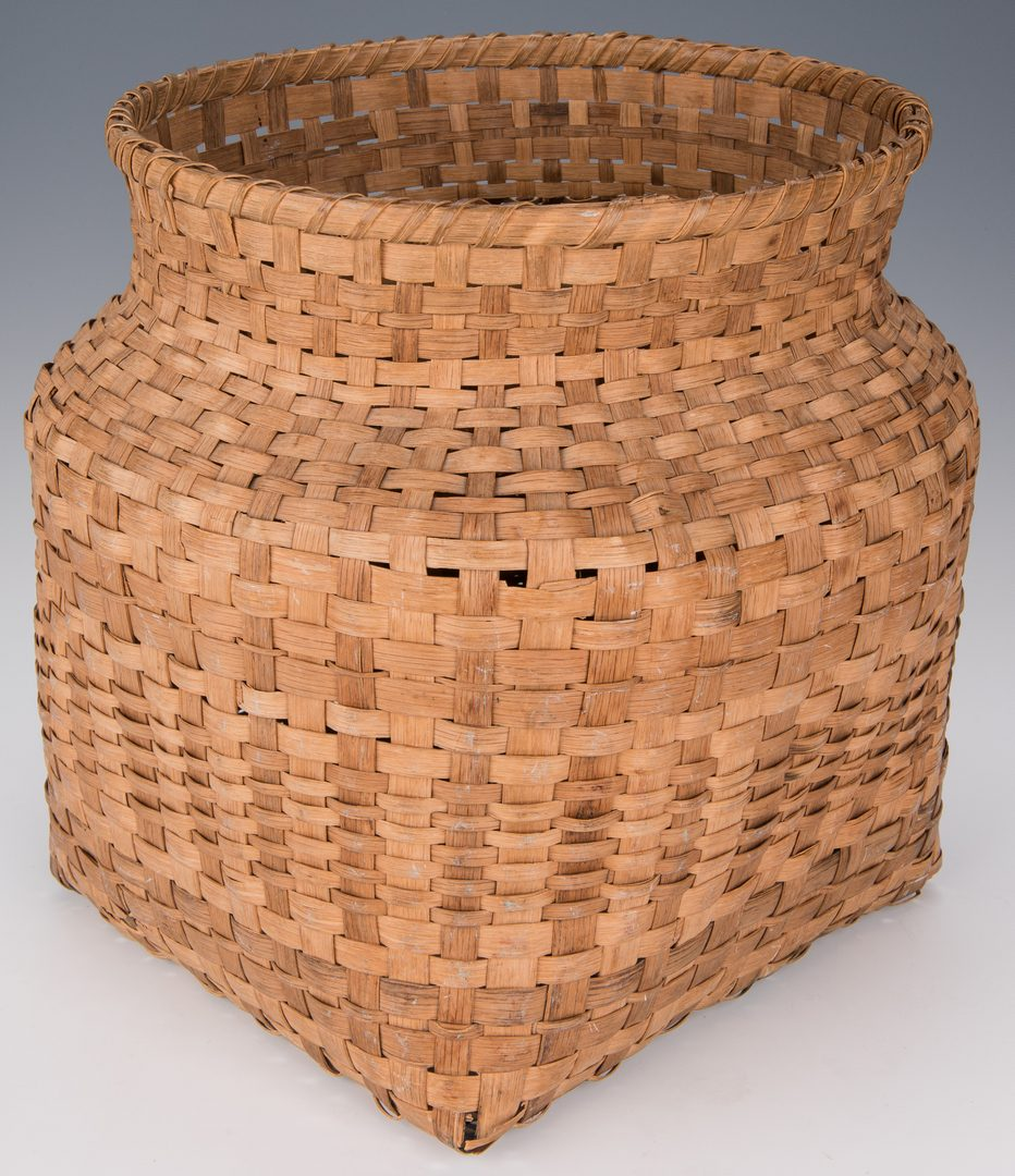 Lot 735: Two East TN Baskets, inc. Cherokee
