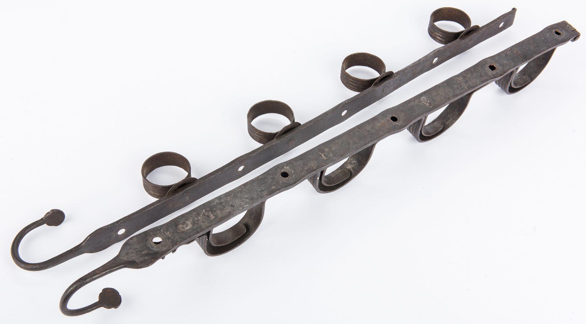 Lot 738: Continental Iron Gun Rack