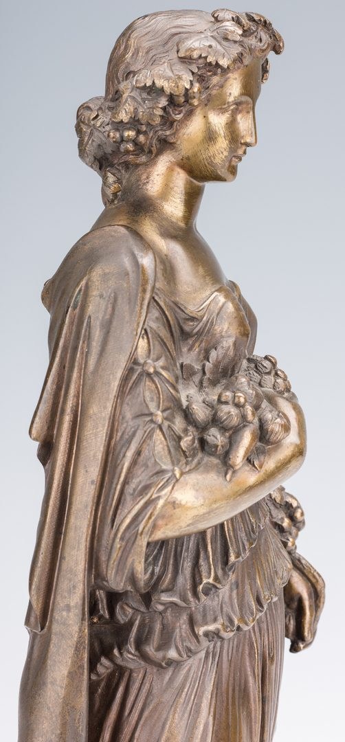 Lot 73: Louis Sauvageau, 4 Seasons Bronze Sculptures