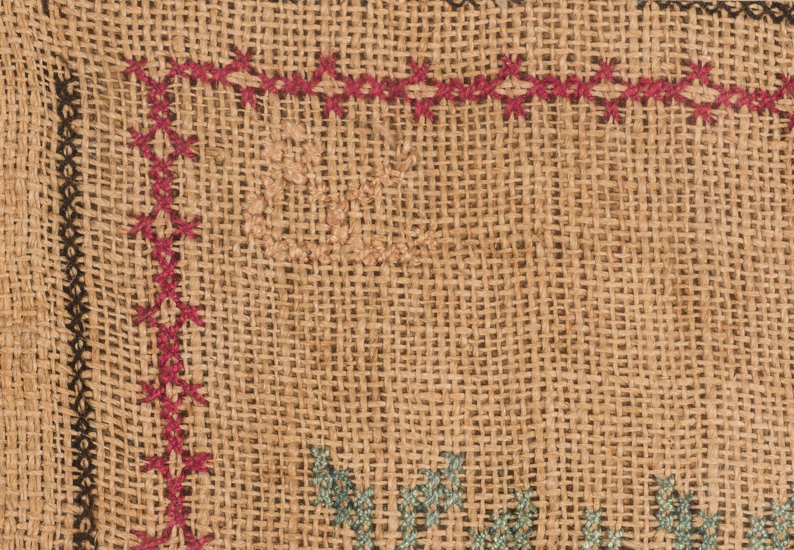 Lot 743: Williamson Co., TN Sampler c. 1835