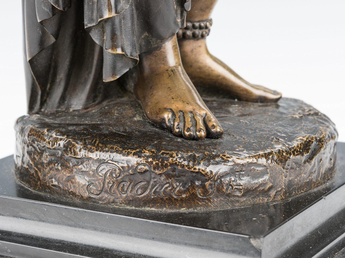 Lot 74: Pradier Bronze Sculpture, Pandora
