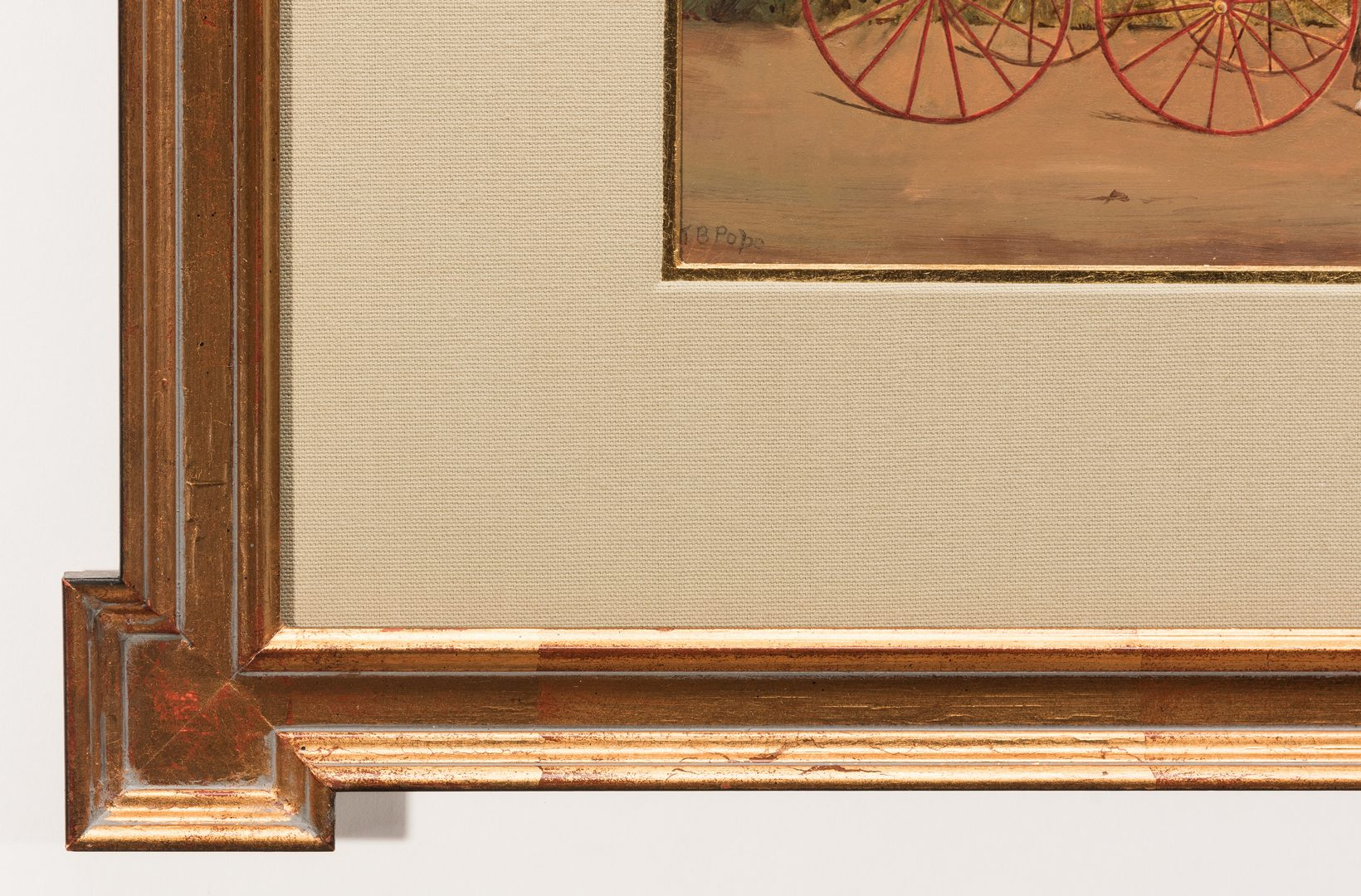 Lot 761: Thomas Pope, O/B, Horse & Buggy
