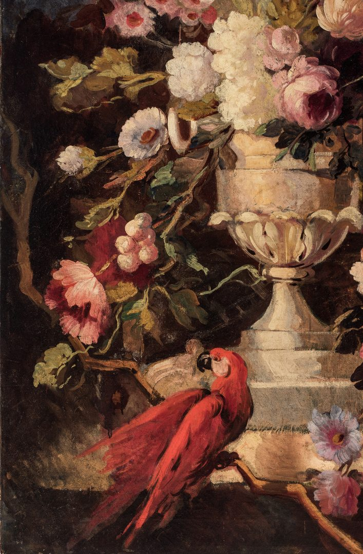 Lot 768: O/C Still Life, Manner of Gerard or Cornelius van Spaendonck