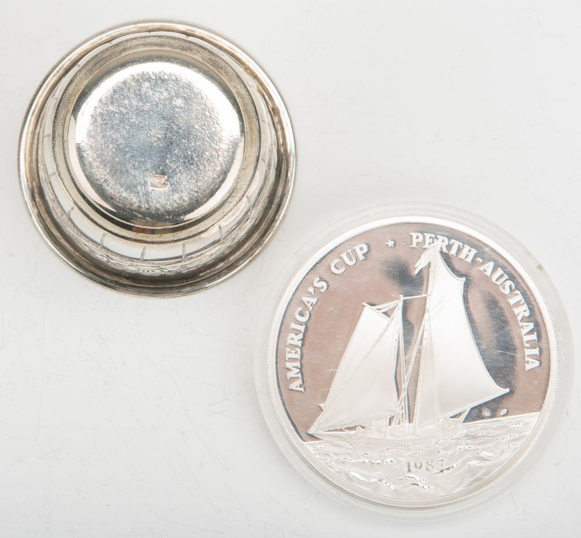 Lot 777: 40 pcs assd. Flatware, plus jigger & coin (42 items total)