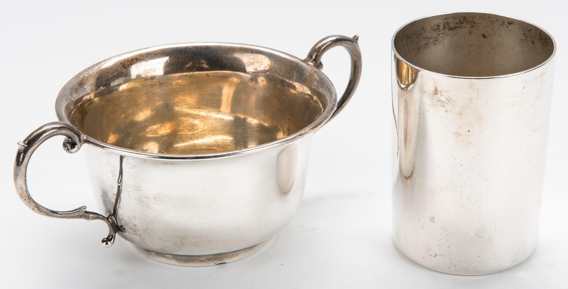 Lot 778: American, English, Continental Silver