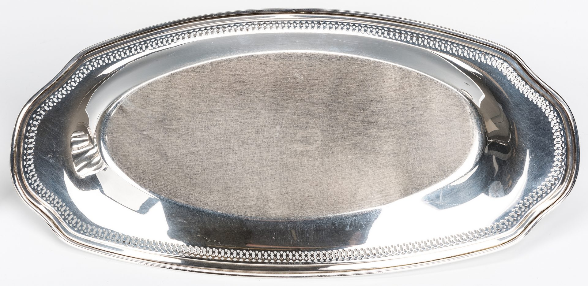 Lot 781: 3 Sterling serving items inc. Birks Bowl