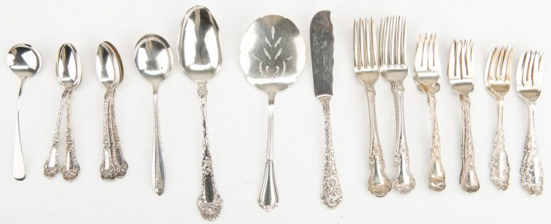 """Louis XV by Whiting Sterling Silver Salad Fork 6 1//4/"""""""