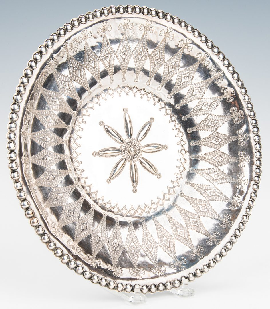 Lot 790: Navajo Silver Charger