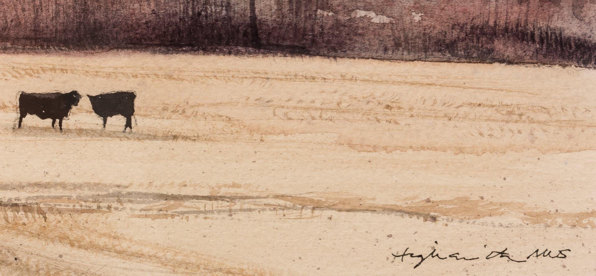Lot 802: 2 Robert Highsmith Plateau Watercolors
