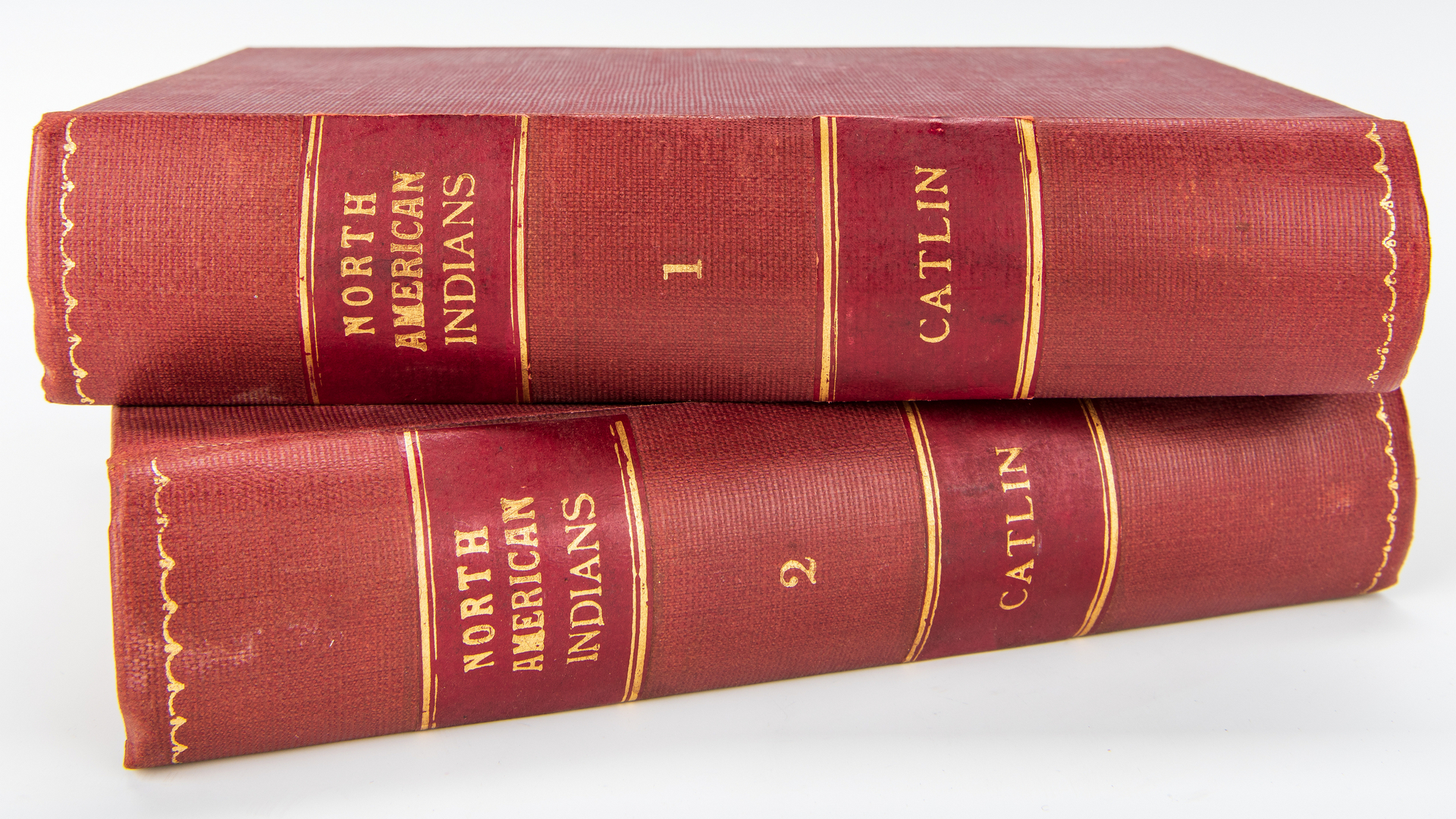 Lot 803: G. Catlin, North American Indians, Vol. I & II, 1857