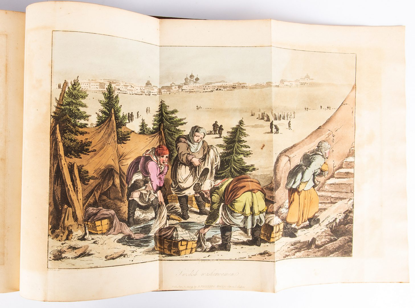 Lot 808: Travelling Sketches in Russia and Sweden, Vol. I-II, 1813