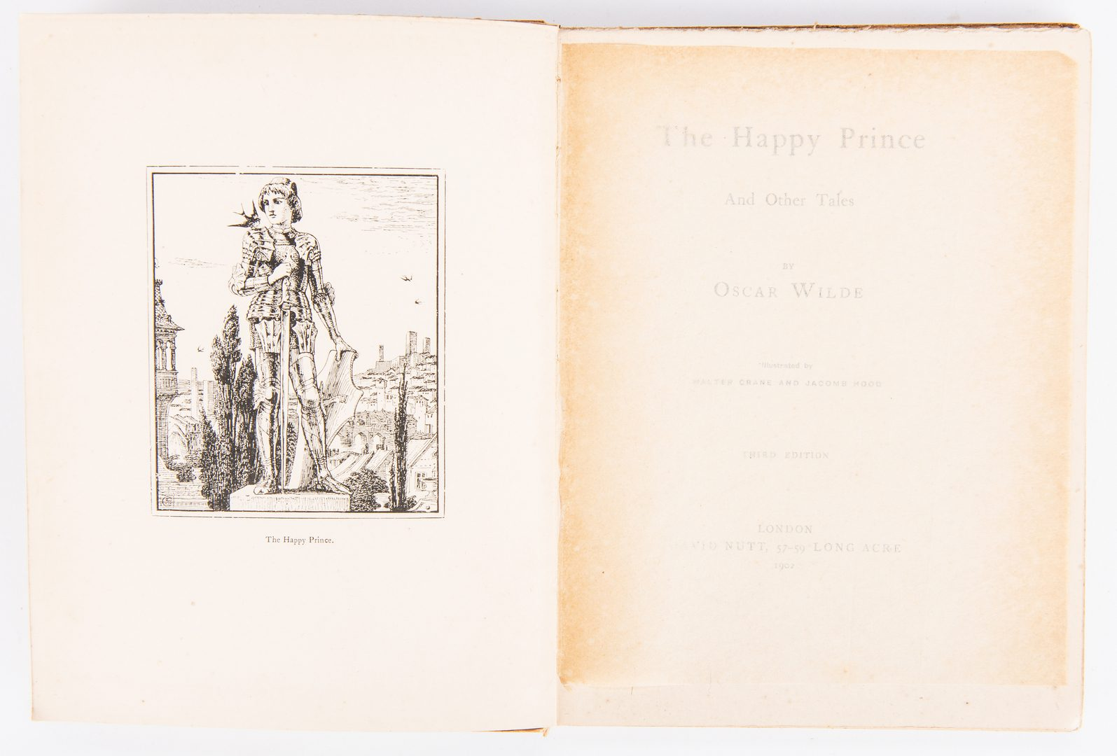 Lot 810: Picture of Dorian Gray 1st Pub., plus Happy Prince