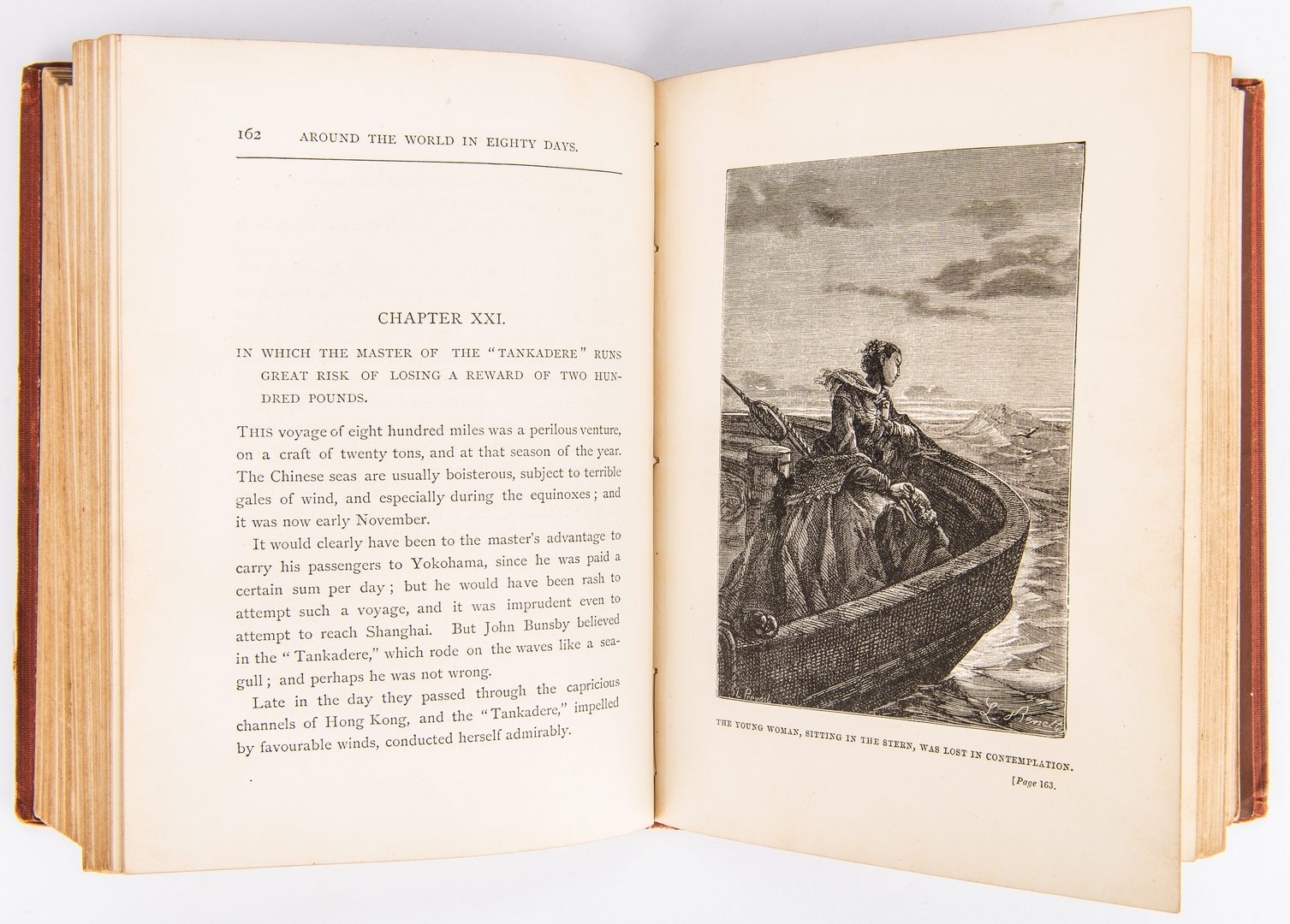 Lot 811: J. Verne, Around the World in Eighty Days, 1st ed., 1873