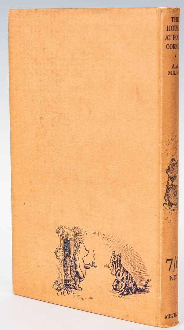 Lot 812: A. A. Milne, The House at Pooh Corner, 1st Ed.