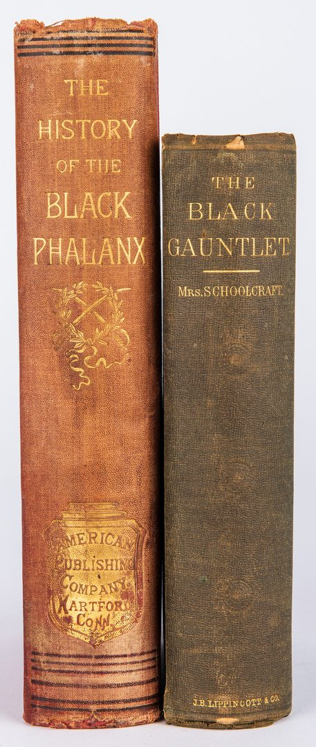 Lot 815: 2 Black Americana Books, Black Gauntlet & Black Phalanx