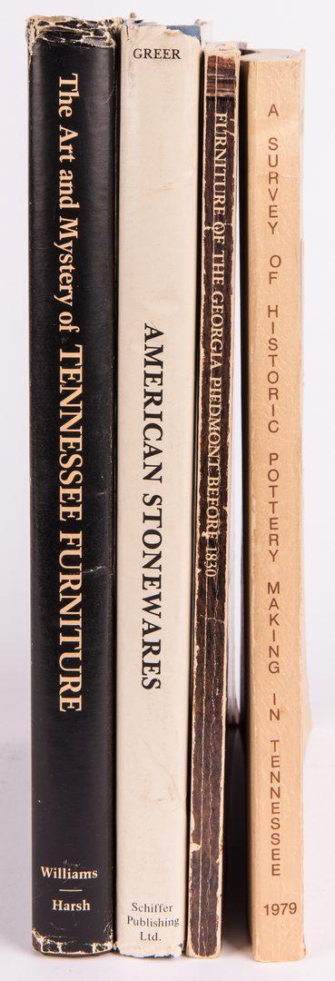 Lot 818: 4 Antique Decorative Arts Books, inc. TN