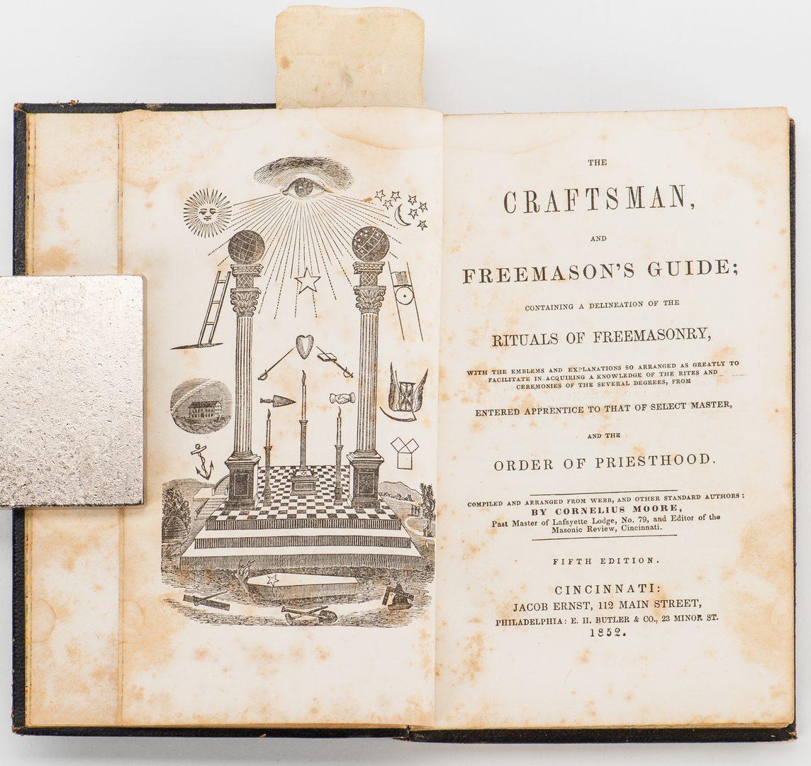 Lot 819: 3 Masonic Related Books