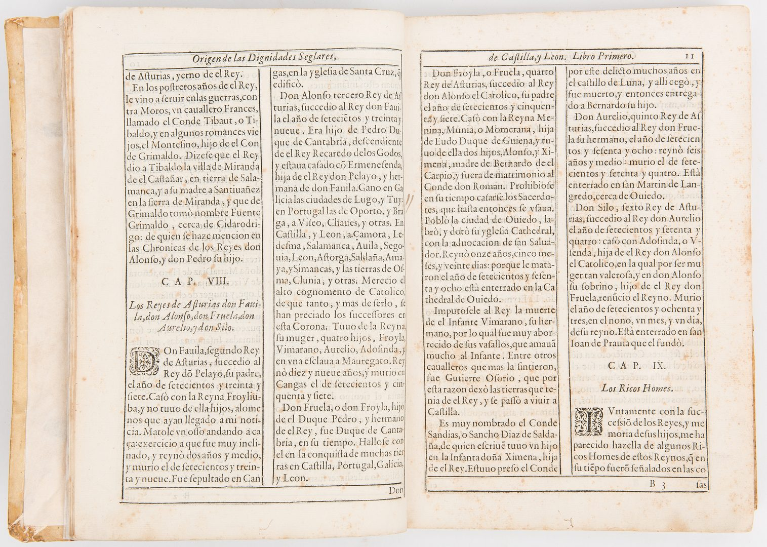 Lot 820: Pedro Salazar de Mendoza Book, 1618, 2 items