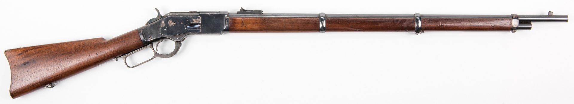 Lot 825: Winchester Model 1873, 44-40 Lever Action Rifle
