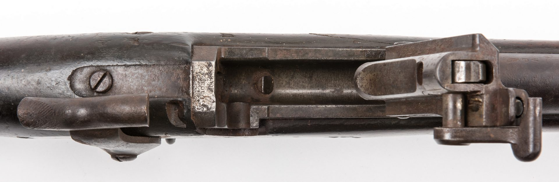 "Lot 826: Springfield Model 1873 ""Trapdoor"" Rifle, .45-70 Cal."