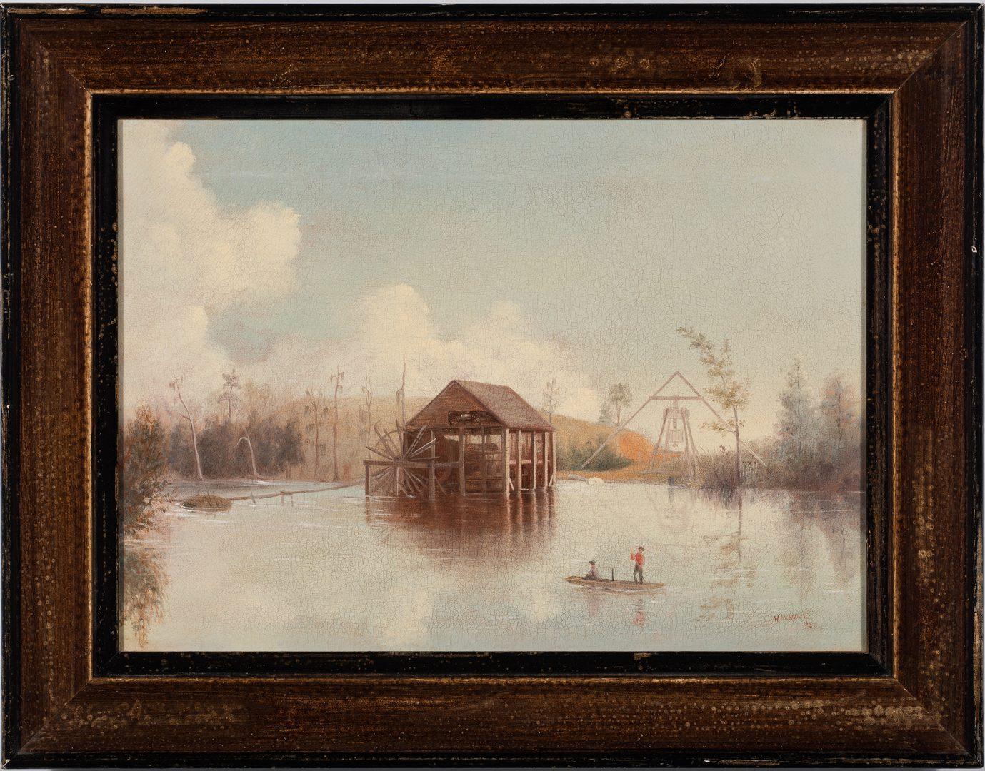 Lot 82: John Malambre Southern Swamp Scene