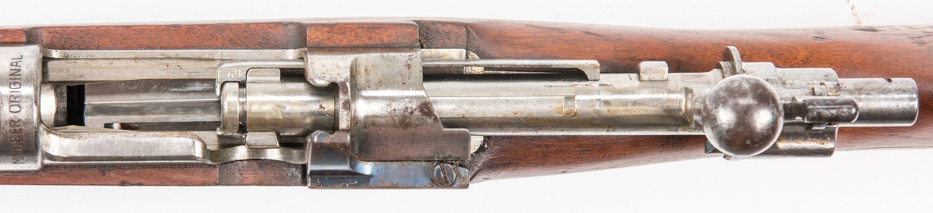Lot 833: Peruvian Model 1909 Mauser Bolt Action rifle, 7.65×53 Cal.