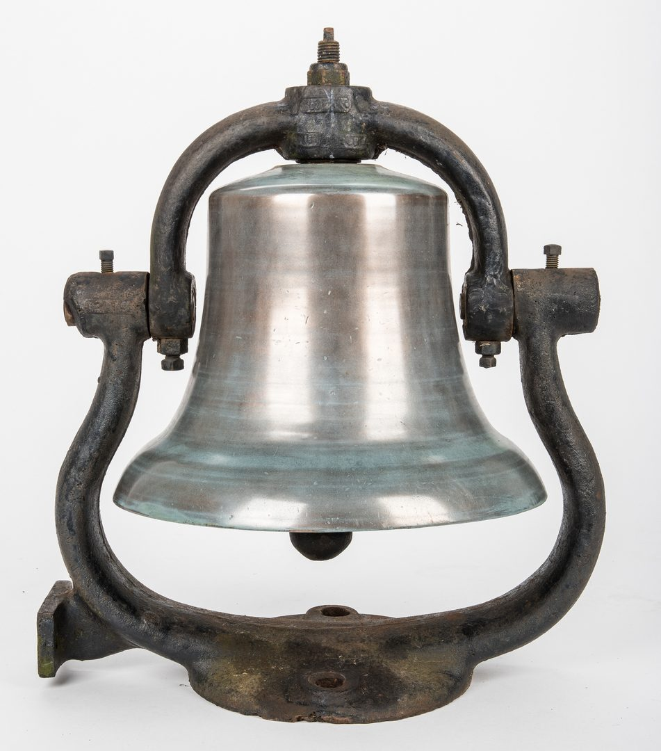 Lot 835: American Locomotive Bell, poss. Southern Railway