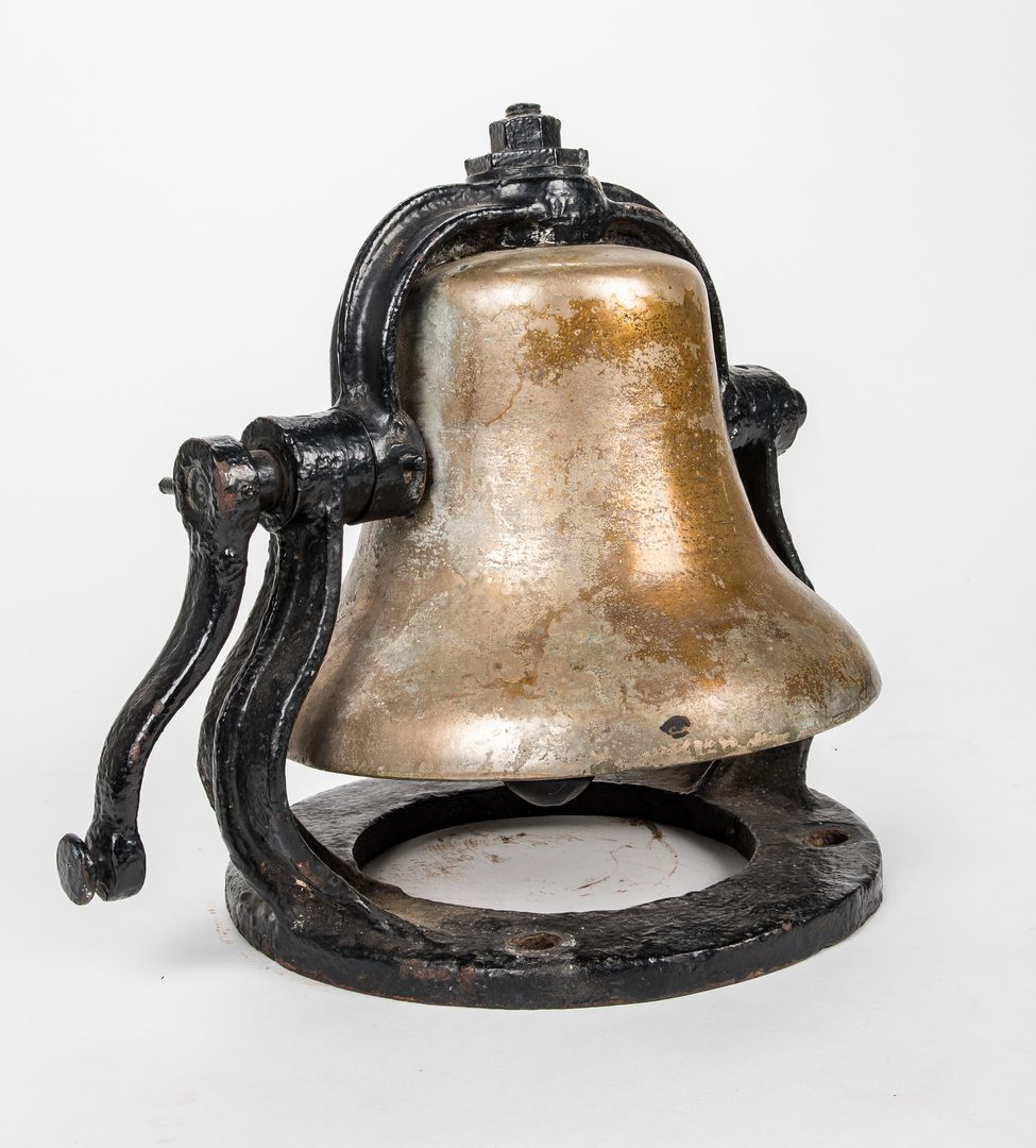 Lot 836: American Brass Locomotive Bell
