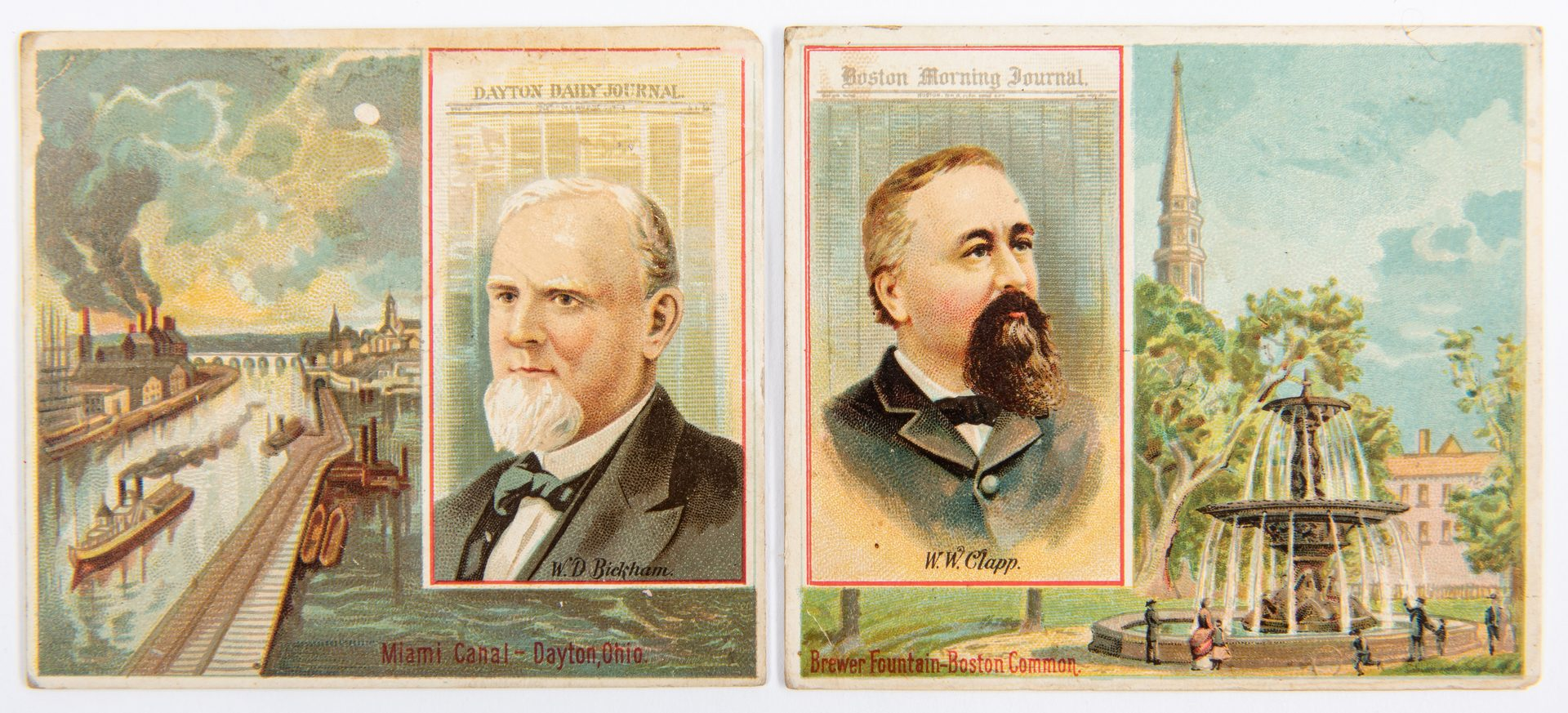 Lot 841: 562 Allen & Ginter Trade Cards