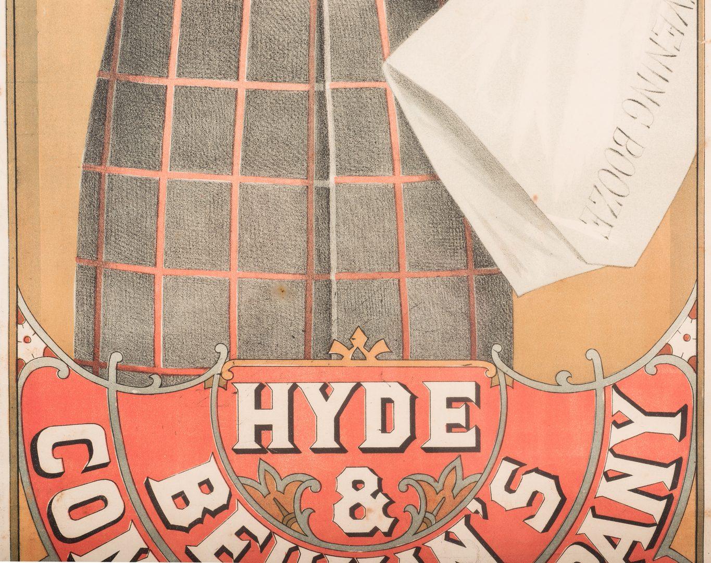 Lot 844: Charles Evans Vaudeville Poster