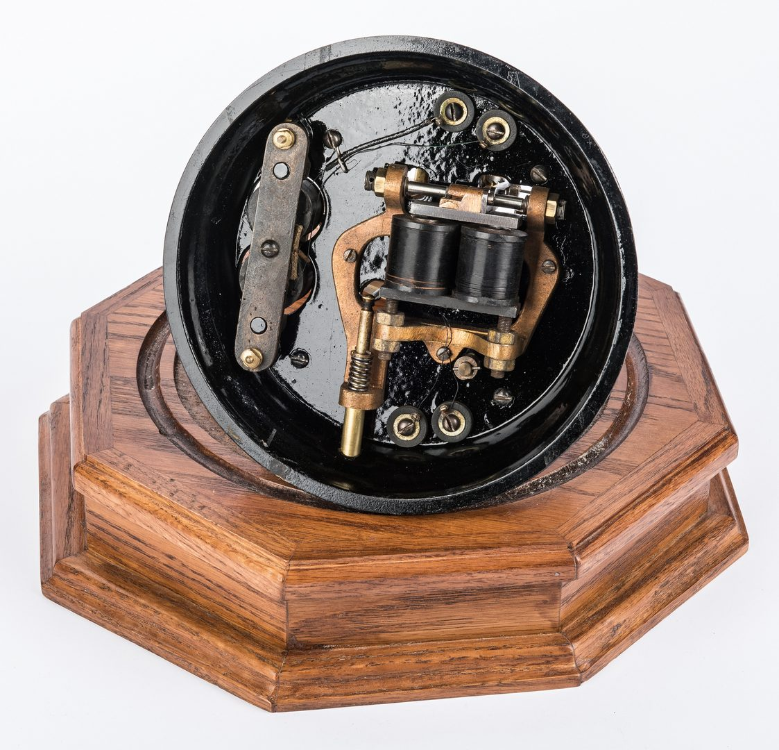Lot 849: Refurbished Western Union Model 3-A Ticker Tape Machine