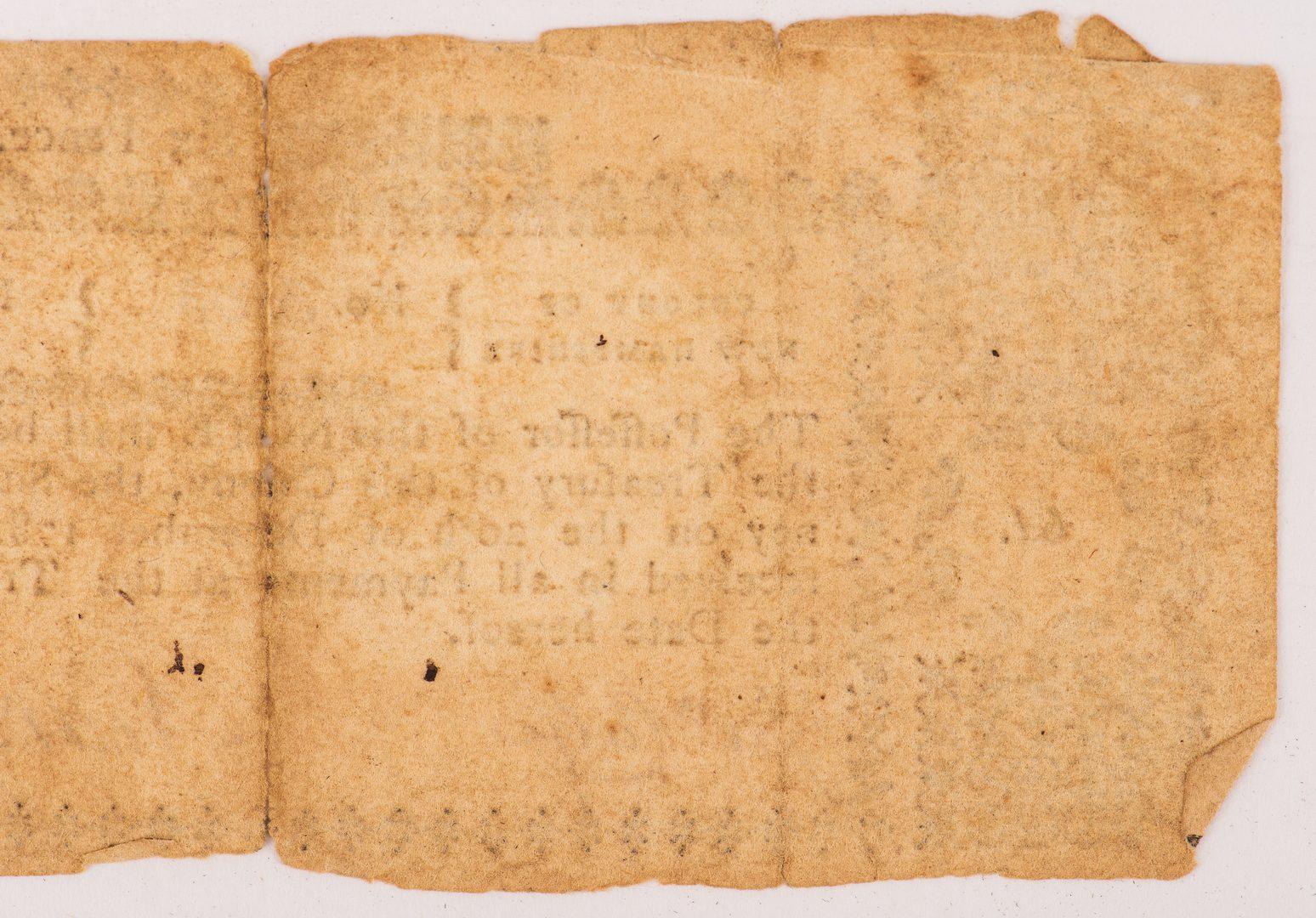 Lot 858: NH Colonial Six Pence, November 3, 1775