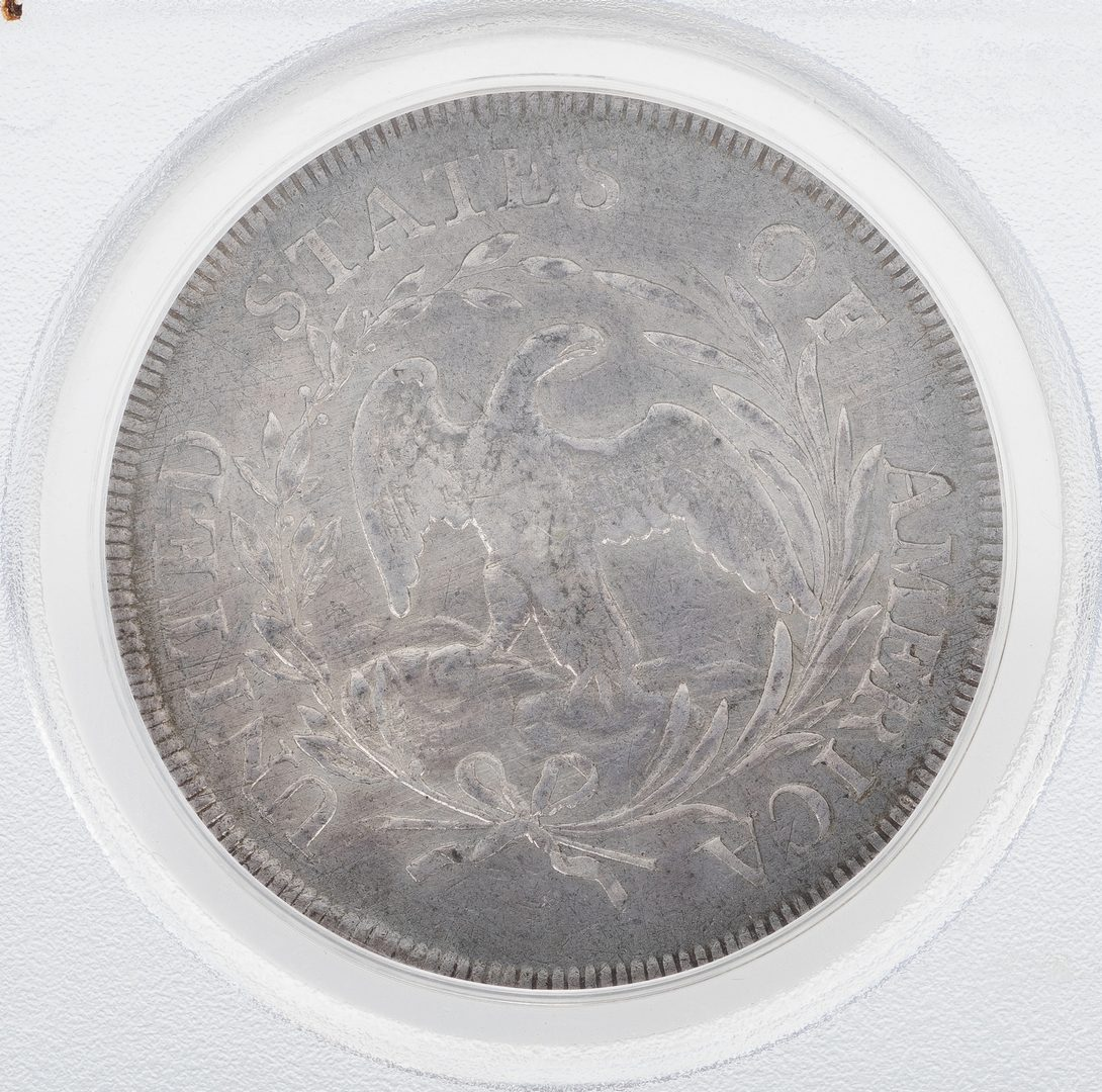 Lot 860: 1796 US Draped Bust Silver Dollar Coin