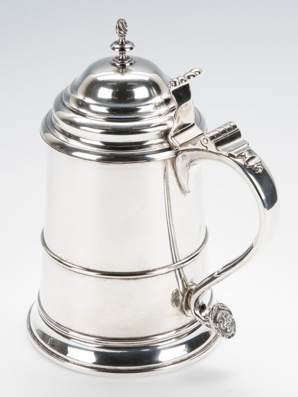 Lot 868: Winterthur Paul Revere Sterling Tankard
