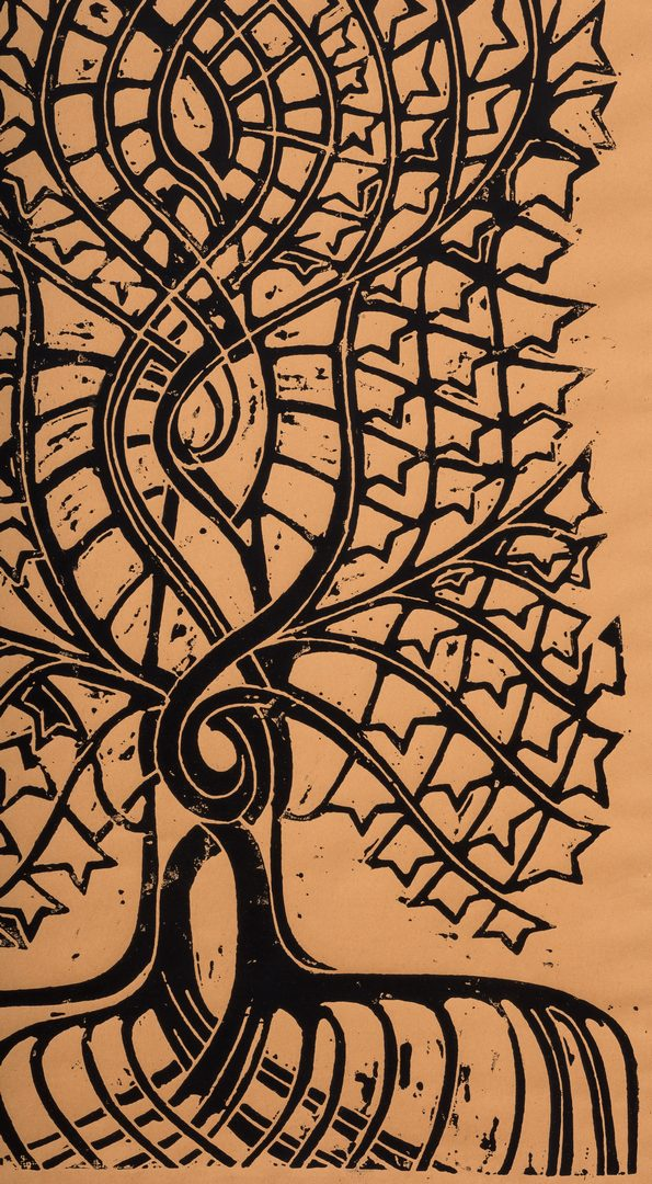 Lot 86: Walter Anderson Print, Tree of Life
