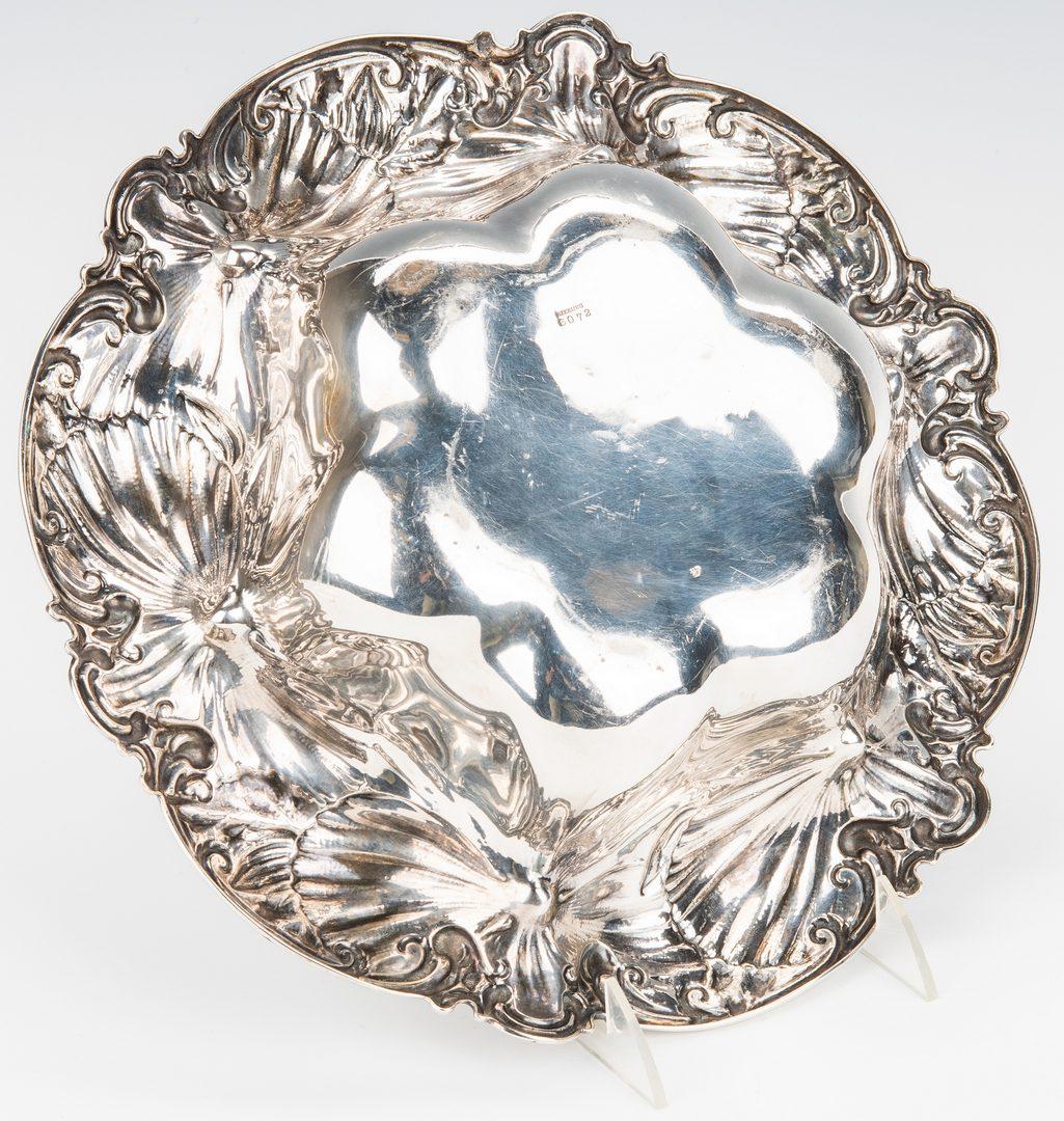 Lot 873: Whiting Art Nouveau Floral Bowl